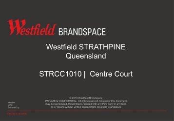 Centre Court - Westfield Pop-Up