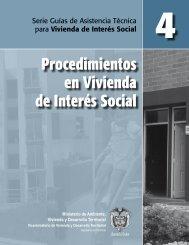 Procedimientos en Vivienda de Interés Social - Ministerio de ...