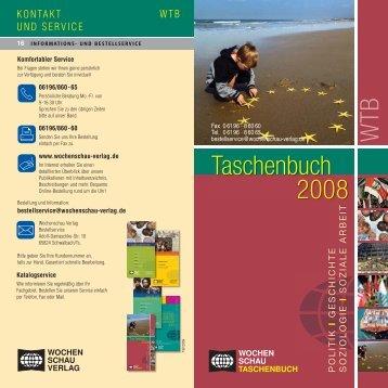 Taschenbuch - Wochenschau Verlag