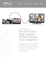 Smart Active HDMI Cables & Adapters - PNY