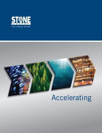 2012 Annual Report - Stone Energy Corporation