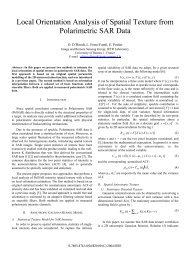Local Orientation Analysis of Spatial Texture from ... - IETR