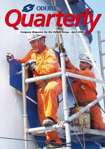 Company Magazine for the Odfjell Group - April 2008