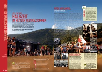 Festivals 07-2012_Special - Trend Magazin