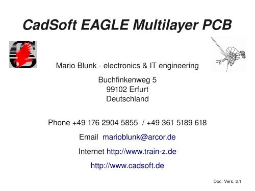 cadsoft eagle old versions