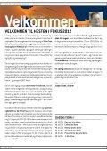 Hesten i Fokus 2012 - Page 2