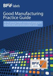 Good Manufacturing Practice Guide - British Printing Industries ...