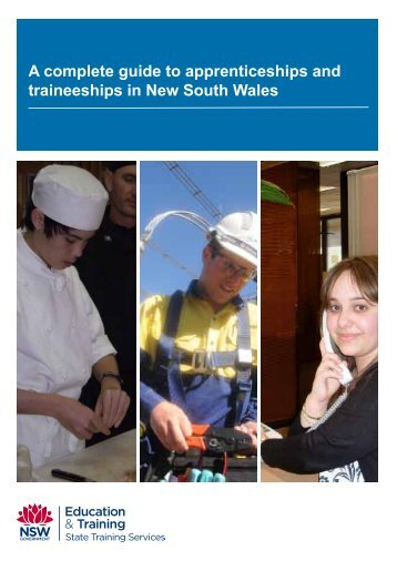 A guide to apprenticeships and traineeships in NSW