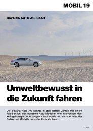 Umweltbewusst in die Zukunft fahren