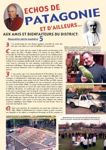 """Les Echos de Patagonie"" n° 5 en fichier pdf - La Porte Latine"