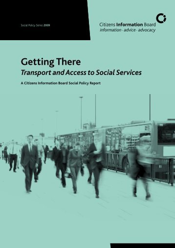 Getting There: Transport and Access to Social Services - Assist Ireland