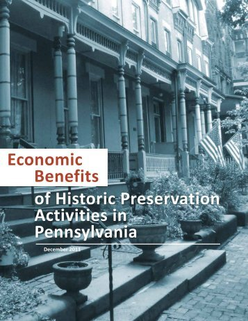 of Historic Preservation Activities in Pennsylvania ... - Portal.state.pa.us