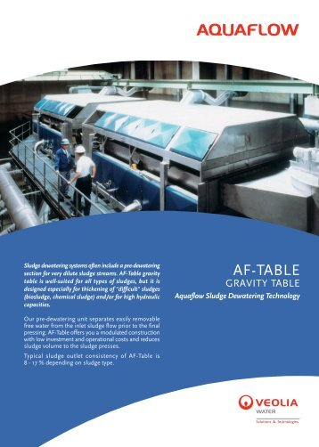 AF-TABLE - Veolia Water Solutions & Technologies