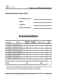 2012 M RW Arb - Wirtschaftsschule KV Chur