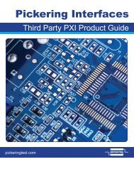 PXIS-3320 - Pickering Interfaces