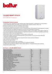 COLIBRI SMART CR 26 K - Certificazione energetica edifici