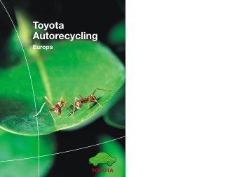 Entsorgung - Toyota