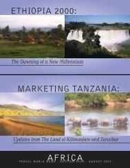ethiopia 2000: marketing tanzania: africa - Travel World News