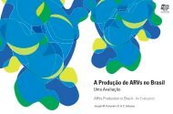 A Produção de ARVs no Brasil - Uma Avaliação - Abia