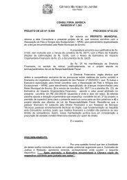 CONSULTORIA JURÍDICA PARECER Nº 1.245 PROJETO DE LEI ...