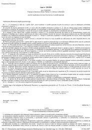 Lege nr. 226/2006 privind incadrarea unor locuri de ... - CSN Meridian