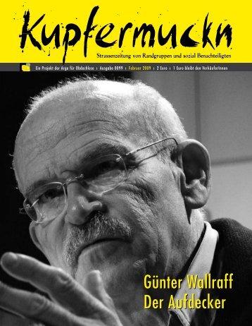 Günter Wallraff Der Aufdecker Günter Wallraff Der Aufdecker