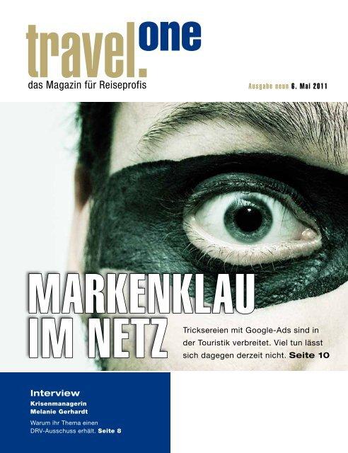 das Magazin für Reiseprofis - Travel-One