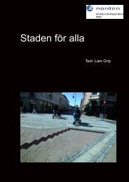 Ladda ner publikationen - Nordens Välfärdscenter