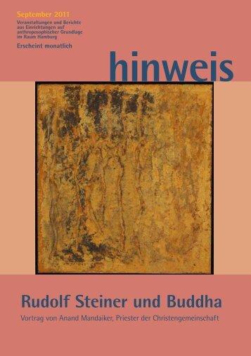 Rudolf Steiner und Buddha - Gemeinnützige Treuhandstelle ...