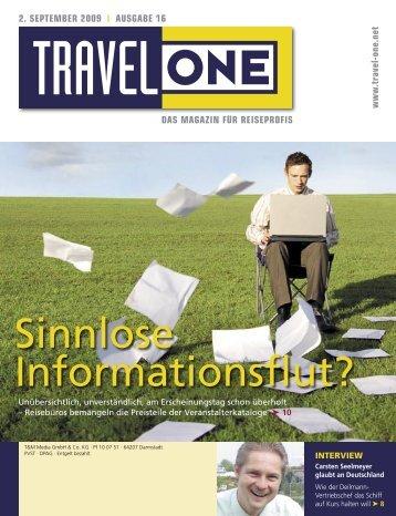 Partner Fliegen - Travel-One