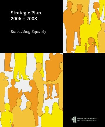 Strategic Plan 2006 - 2008.pdf - Equality Authority