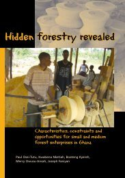 Hidden forestry revealed - iied.org - International Institute for ...