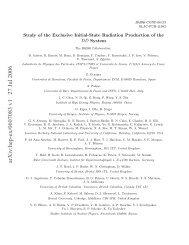 arXiv:hep-ex/0607083 v1 27 Jul 2006 - Infn