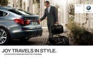 JOY TRAVELS IN STYLE. - United Motors