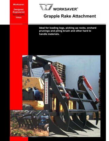 Grapple Rake Attachment