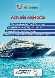 Aktuelle Angebote - Treffpunkt Schiff