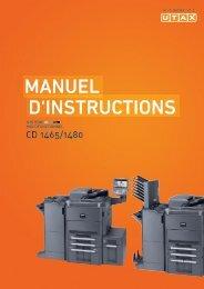 d'InstructIons Manuel - Utax