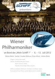 Wiener Philharmoniker - Treffpunkt Schiff