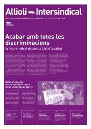 Acabar amb totes les discriminacions - Intersindical Valenciana