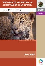 programa de acción para la conservación de la especie