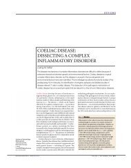COELIAC DISEASE: DISSECTING A COMPLEX INFLAMMATORY ...