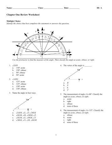 Worksheet One Answer Key: Vector Review and Electrostatics