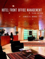 Hotel Front Office Management, 3rd Edition