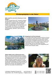 PDF Kinderparadies - Fürenalp