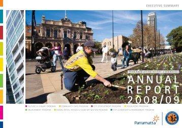 See Executive Summary - Parramatta City Council