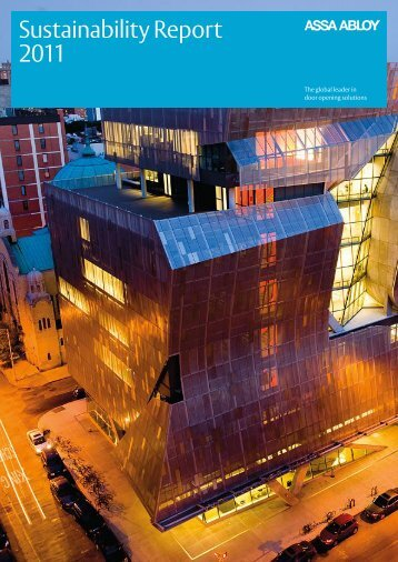 Download Sustainability Report 2011 - Assa Abloy