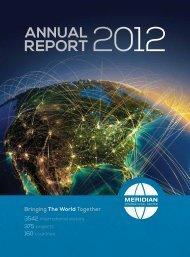 annual report - Meridian International Center