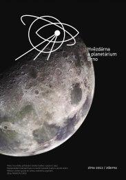 zima 2012 / zdarma - Hvězdárna a planetárium Brno