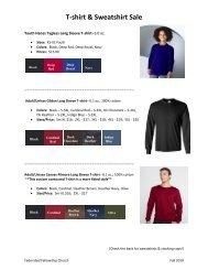 T-shirt & Sweatshirt Sale - Federated Fellowship