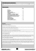Manual Tracer 60 UK - HPI Racing UK - Page 2